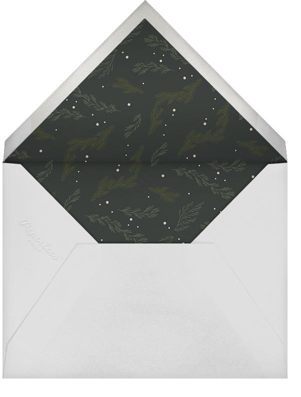 Triple Interior Border (Tall Photo) - Silver - Paperless Post - Envelope