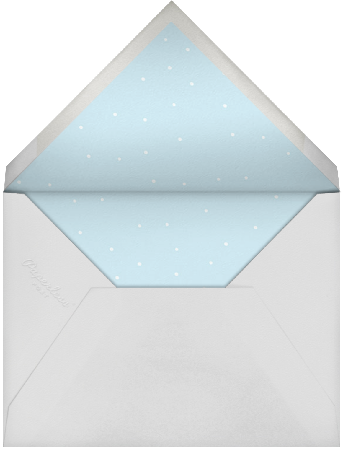 Winter At Home - Paperless Post - Holiday cards - envelope back