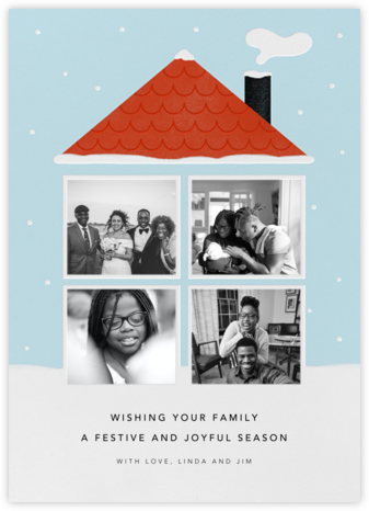 Winter At Home - Paperless Post - Holiday Cards