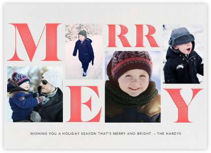 Hopscotch Holiday - Paperless Post - Holiday Cards