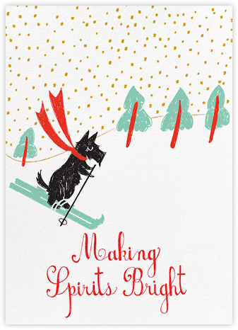 My Doggie Is So Talented - Mr. Boddington's Studio - Holiday cards