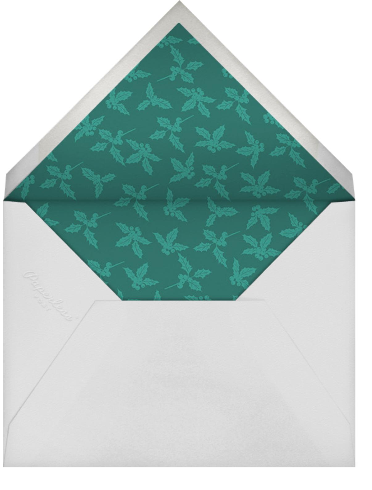 Ribbon of Christmas Joy - Paperless Post - Christmas - envelope back