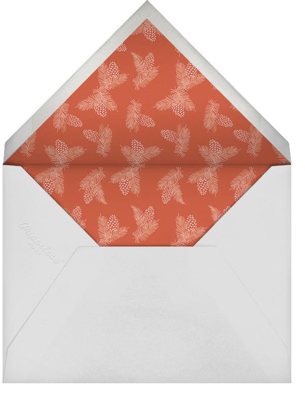 Ribbon of Joy - Paperless Post - Holiday cards - envelope back