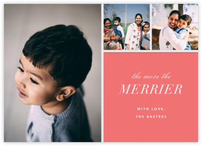 Close-Up - Pink - Paperless Post - Holiday Cards