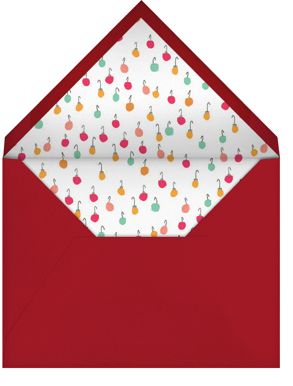 There's a Reindeer at the Door (Greeting) - Mr. Boddington's Studio - Envelope