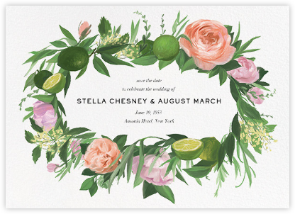 Gramercy Garden (Save the Date) - Paperless Post - Save the dates