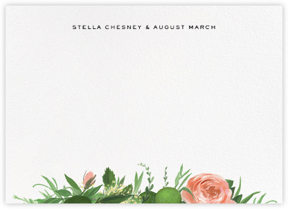 Gramercy Garden (Stationery) - Paperless Post - Personalized Stationery
