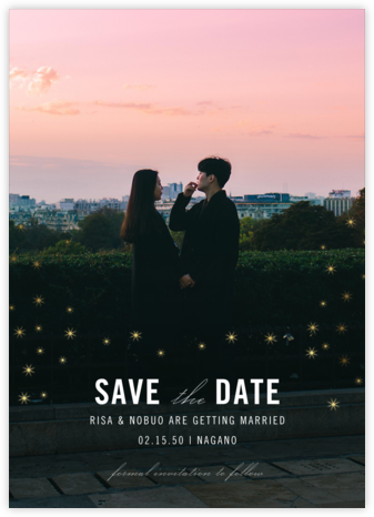 Celeste (Photo Save the Date) - Paperless Post - Save the dates