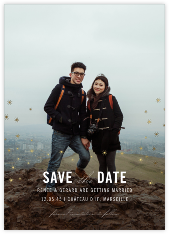 Celeste (Photo Save the Date) - Paperless Post - Save the date cards and templates
