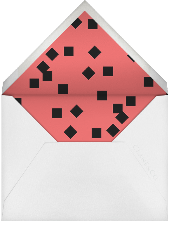 The Occasion (Photo Save the Date) - Paperless Post - Modern  - envelope back