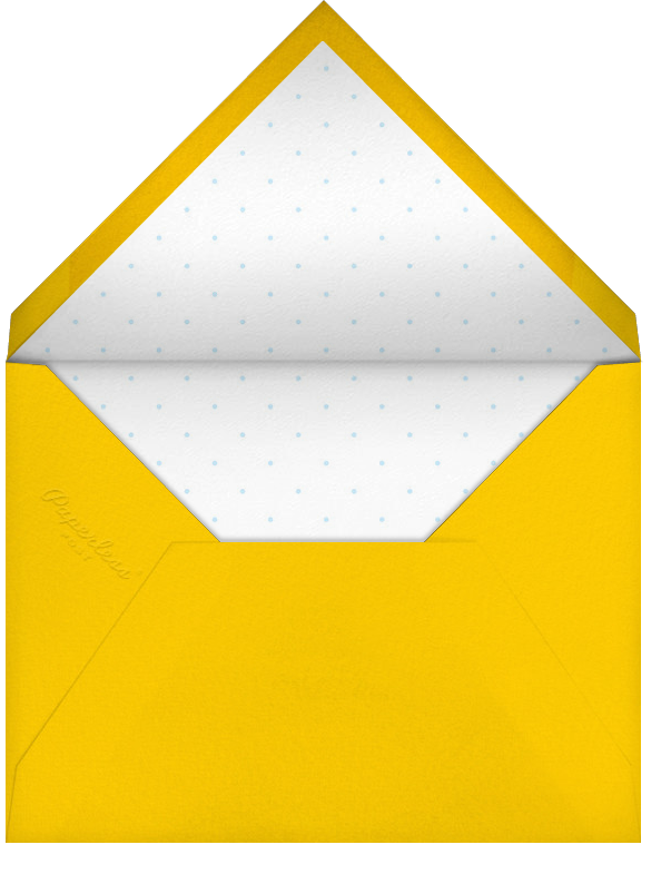 Holiday Souvenirs - Paperless Post - Envelope