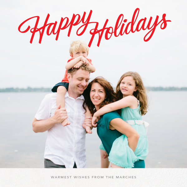 Holiday Classic (Square) - Paperless Post - Holiday cards
