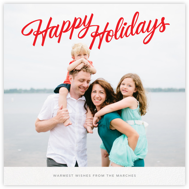 Holiday Classic (Square) - Paperless Post - Online greeting cards