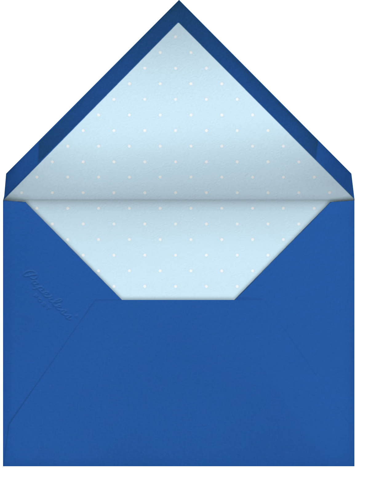 New Year Classic (Square) - Paperless Post - New Year - envelope back