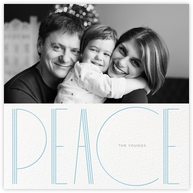 Deco Peace (Square) - Paperless Post -