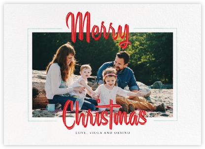 Retro Christmas (Horizontal) - Paperless Post - Christmas cards