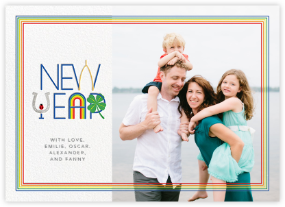 Lucky New Year (Photo) - Paperless Post - New Year cards