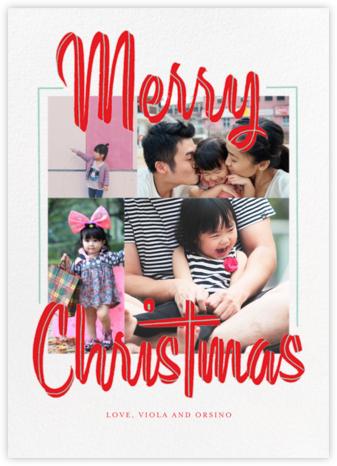 Retro Christmas (Multi-Photo) - Paperless Post -