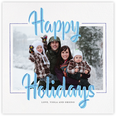 Retro Holiday (Square) - Paperless Post -
