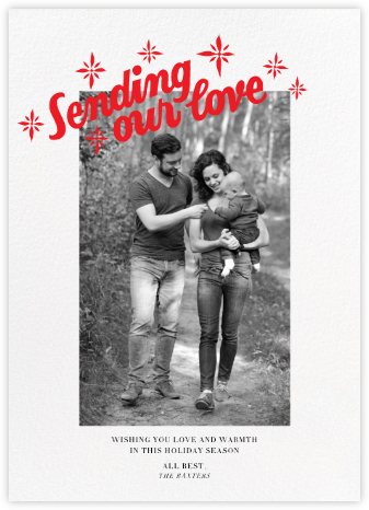 Sending our Love (Tall) - Paperless Post -