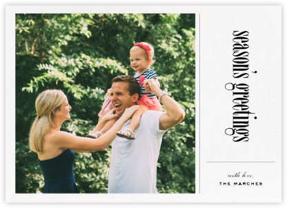 Big Picture Season - Paperless Post - Holiday Cards