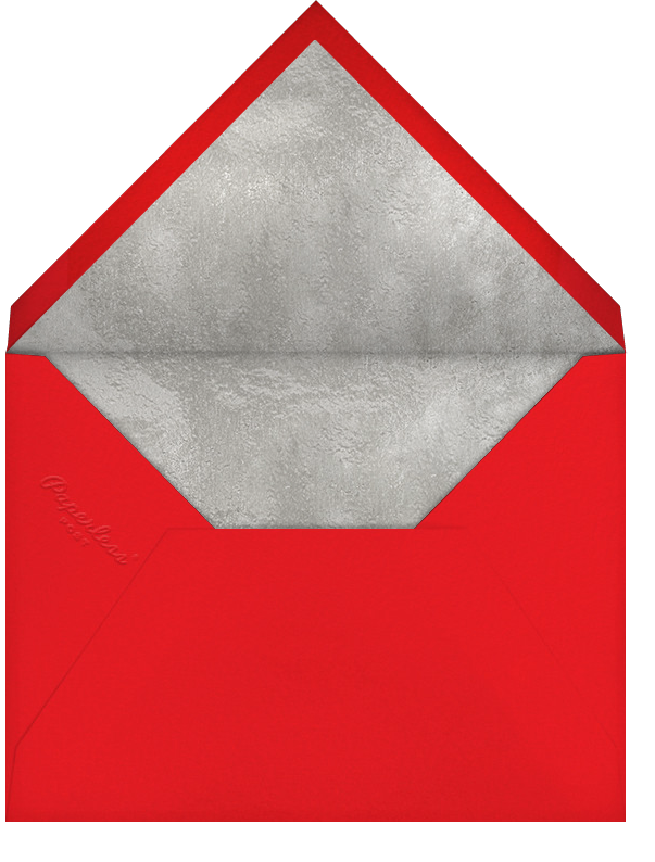 Inscribed New Year (Horizontal) - Red - Paperless Post - New Year - envelope back