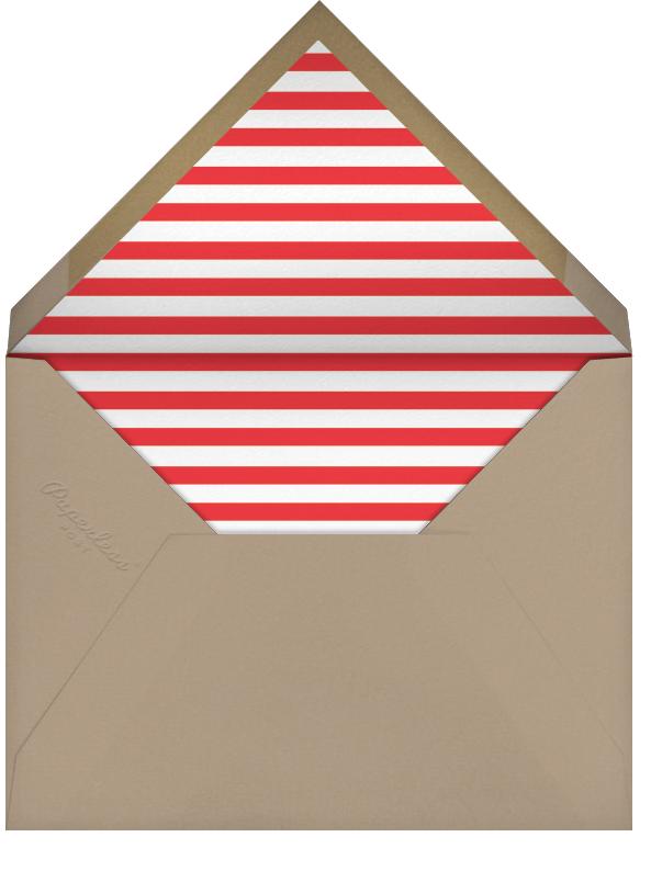 Minimalist Wishes (Horizontal) - Paperless Post - Holiday cards - envelope back