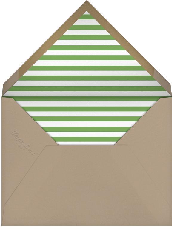 Minimalist Christmas (Tall) - Paperless Post - Christmas - envelope back