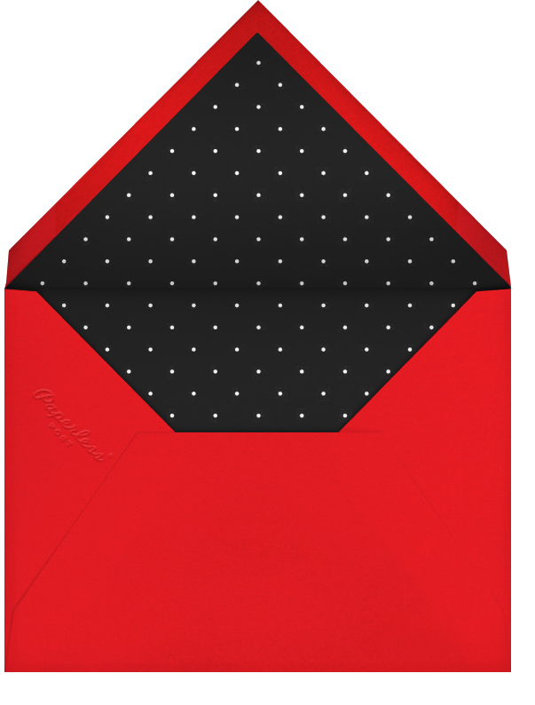 More Fun It Is - Red - Paperless Post - Holiday cards - envelope back