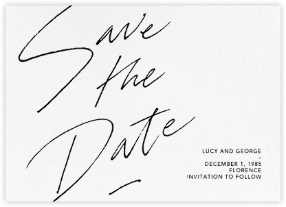 Markham - Paperless Post - Modern save the dates