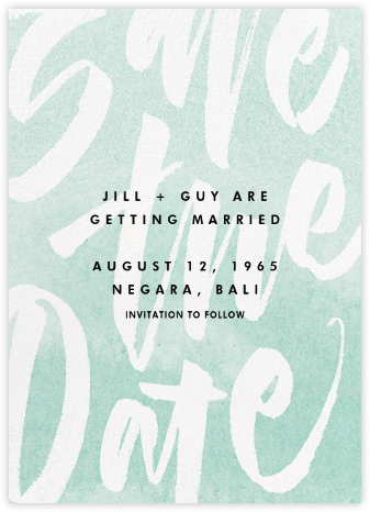 Stoneware - Paperless Post - Modern save the dates