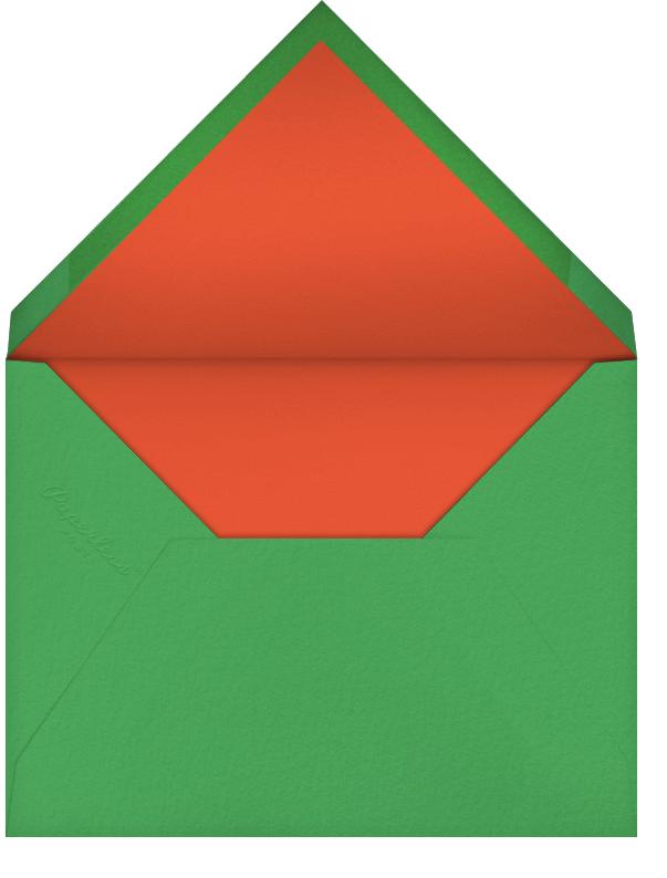 Majuscule  - Black - Paperless Post - Photo  - envelope back