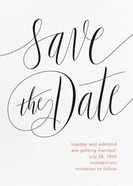 Saint-Preux - Black - Paperless Post - Save the dates