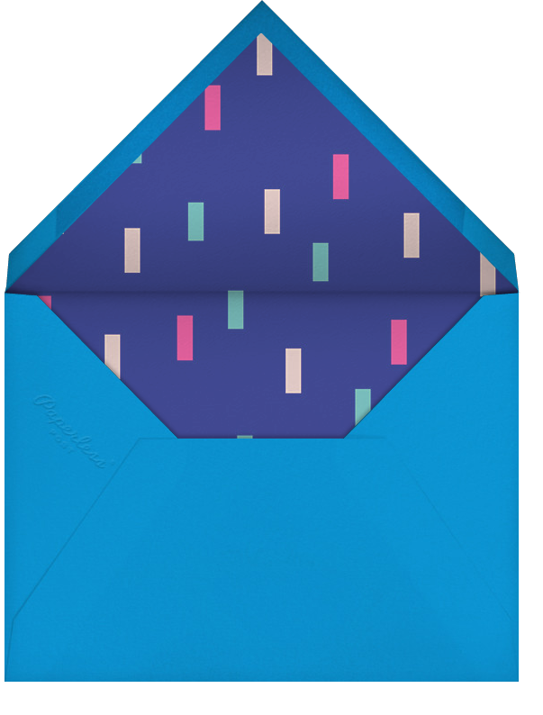 New Year Cascade - Paperless Post - New Year's Eve - envelope back