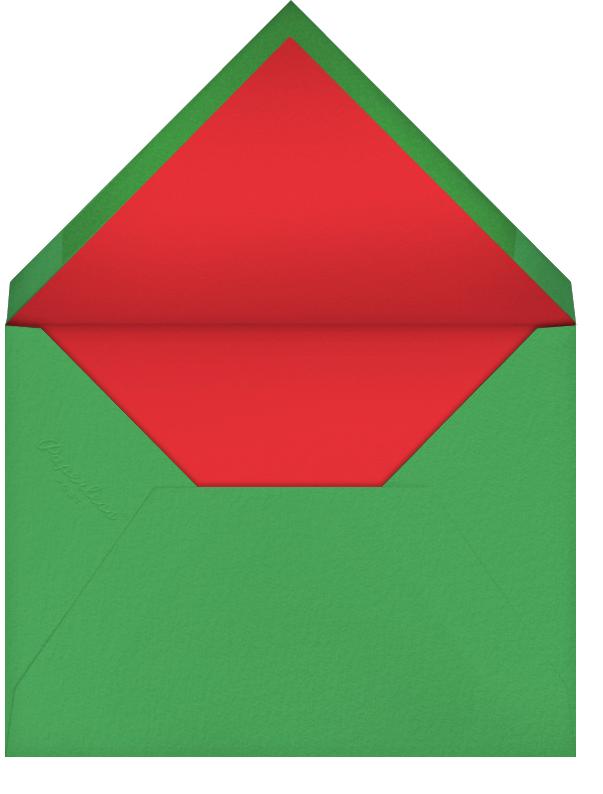 Season's Flourish (Photo) - Paperless Post - Holiday party - envelope back