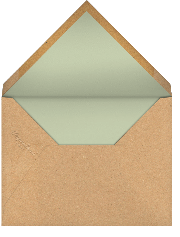 Canine Carol - Paperless Post - Christmas party - envelope back