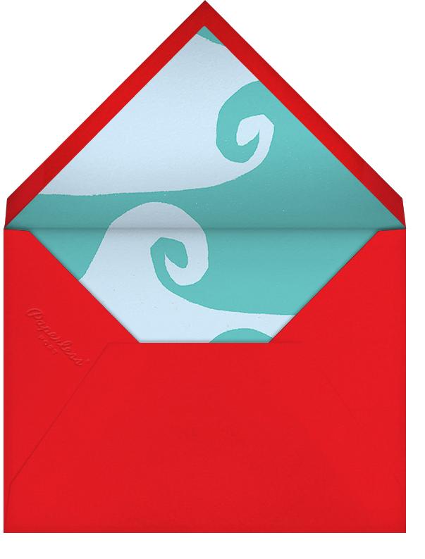 Mele Kalikimaka - Paperless Post - Christmas party - envelope back