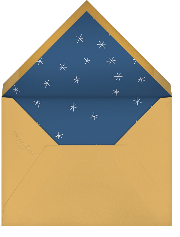Lift Off - Paperless Post - New Year's Eve - envelope back