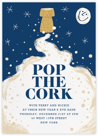 Lift Off - Paperless Post - New Year's Eve Invitations