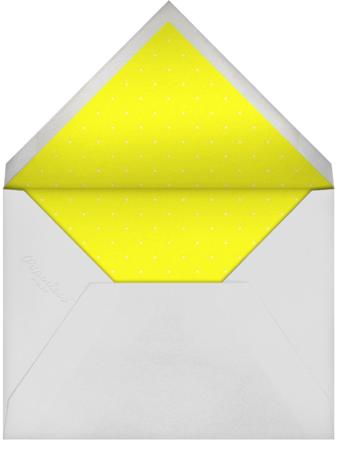 Spec in Capri - Sunshine - Mr. Boddington's Studio - Engagement party - envelope back
