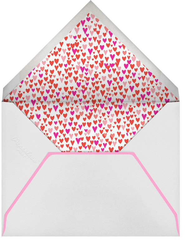 Baby Love - Pinks - Mr. Boddington's Studio - Baby shower - envelope back