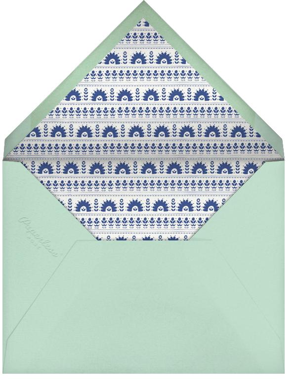 A Splendid Dutch Pot - Sri Lanka - Mr. Boddington's Studio - Engagement party - envelope back