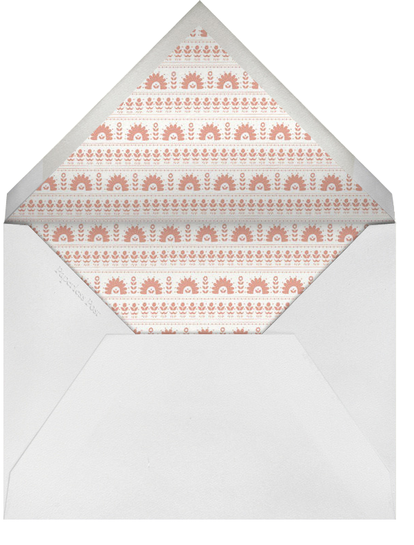 A Splendid Dutch Pot - Royal - Mr. Boddington's Studio - Bat and bar mitzvah - envelope back