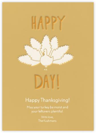 Turkey Day - Linda and Harriett -