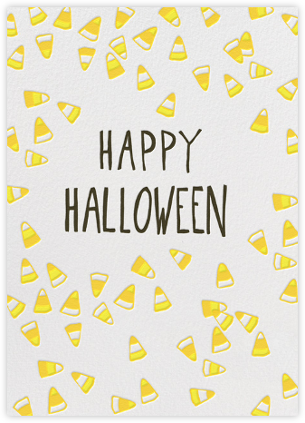 Candy Time Greeting - Linda and Harriett - Halloween cards