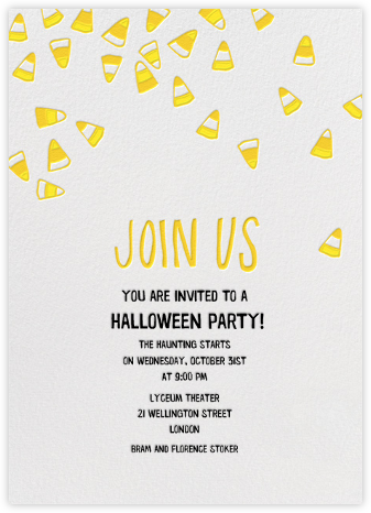 Candy Time Invite - Linda and Harriett -