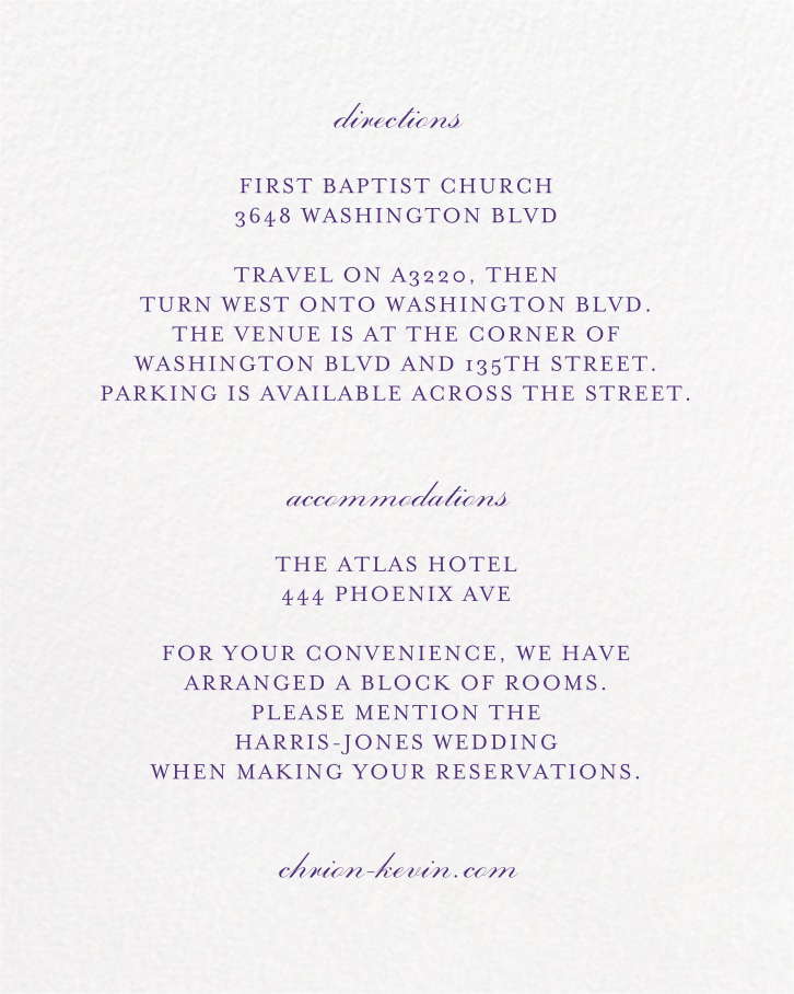 Forsythia (Invitation) - Mulberry - Paperless Post - All - insert front