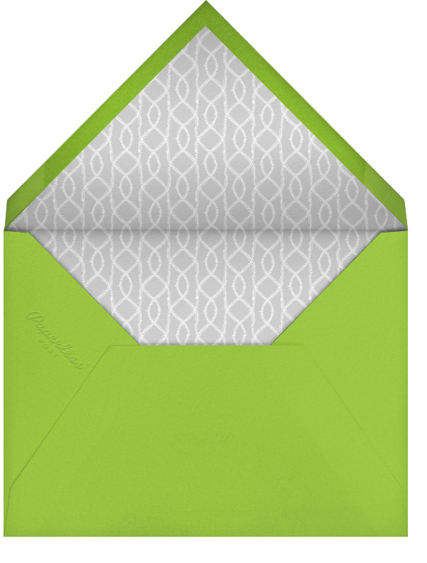 Forsythia - Green - Paperless Post - General entertaining - envelope back
