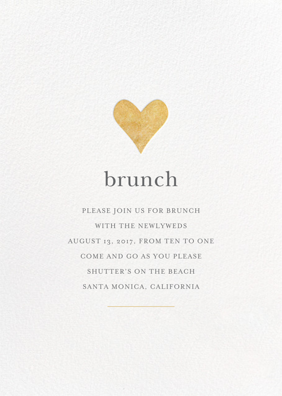 Wedding brunch invitations online at Paperless Post