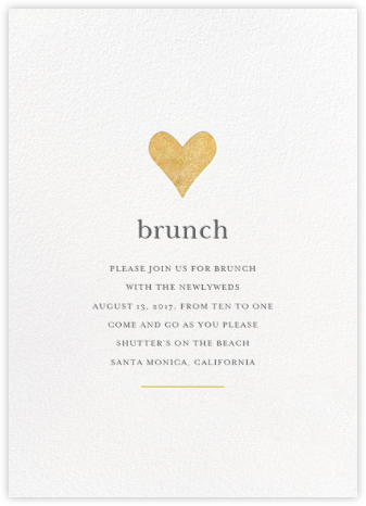 wedding brunch invitation wedding